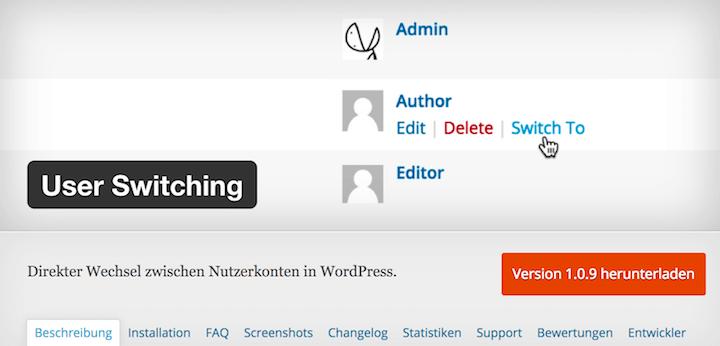 Sehe deine WordPress Site aus der Sicht deiner User