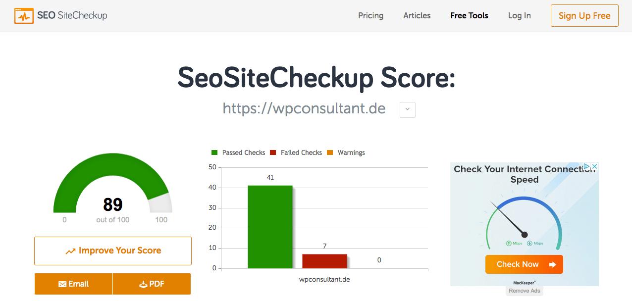 Besten Seo Tools Kostenlos Ohne Registrierung Wp Consultant