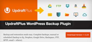 WordPress Website Backup erstellen mit UpdraftPlus