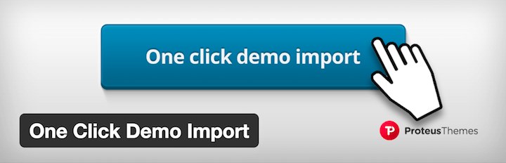 WordPress Plugin One Click Demo Import