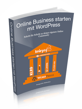 Online Business starten mit WordPress kostenloses E-Book