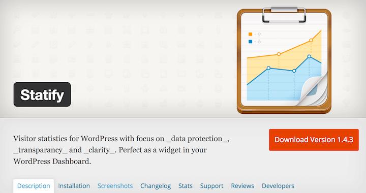 Statify - datenschutzkonforme Alternative zu Google Analytics
