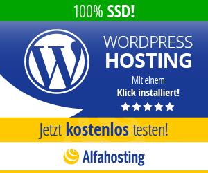 Alfahosting - WordPress-Hosting