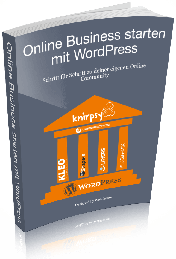 E-Book kostenlos - Online Business starten mit WordPress