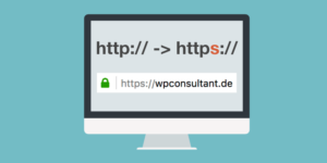 WordPress Website auf https umstellen