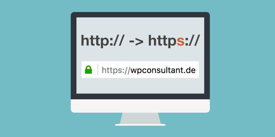 WordPress Website auf https umstellen