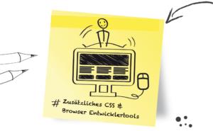 WordPress Theme anpassen zusätzliches CSS und Browser Entwicklertools