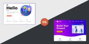 Hello vs. Astra - Welches WordPress Theme soll ich mit Elementor Theme Builder verwenden?