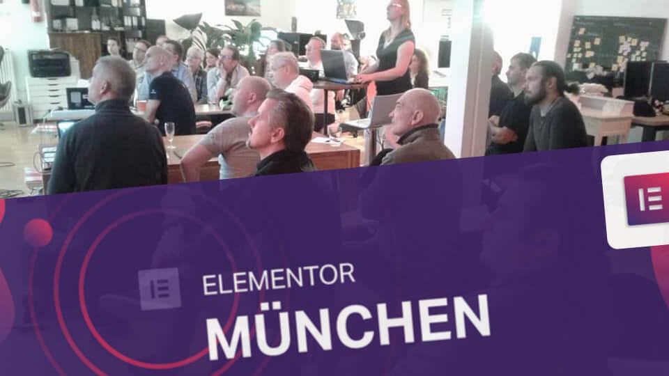Elementor Meetup München - Eigenes Elementor Widget erstellen