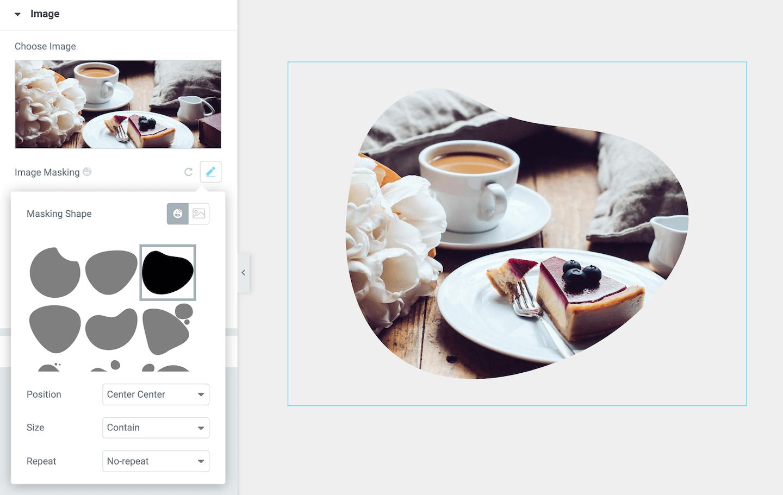 Image Masking in Elementor - Einfach Bilder maskieren mit HappyAddons