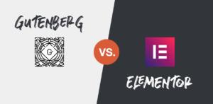 Elementor vs. Gutenberg Performance Vergleich - Beiträge lieber nicht mit Elementor erstellen